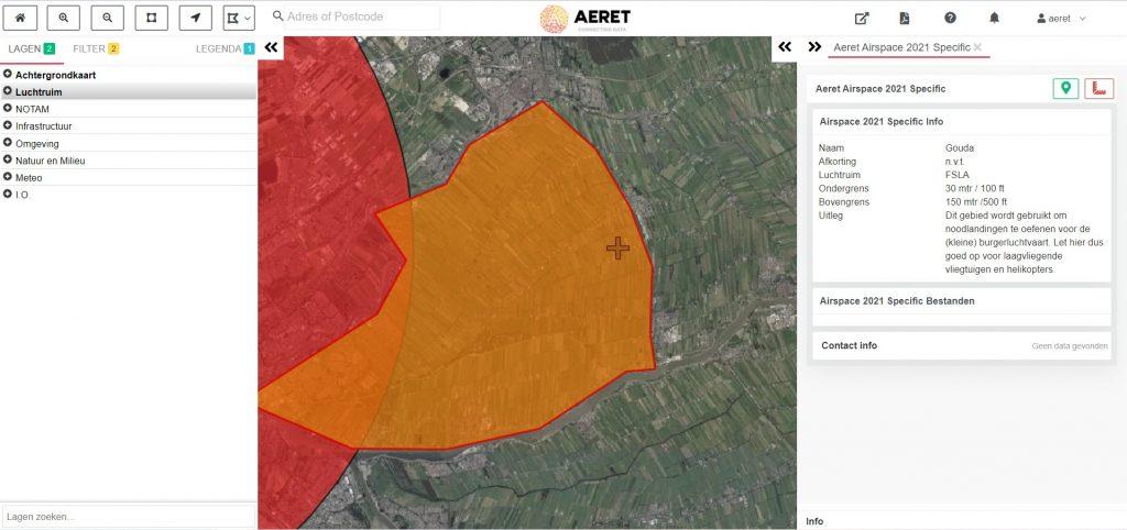 drone preflight pro kaart laagvlieg gebied civiel noodlanding oefenen open specific