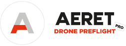 aeret drone preflight pro logo