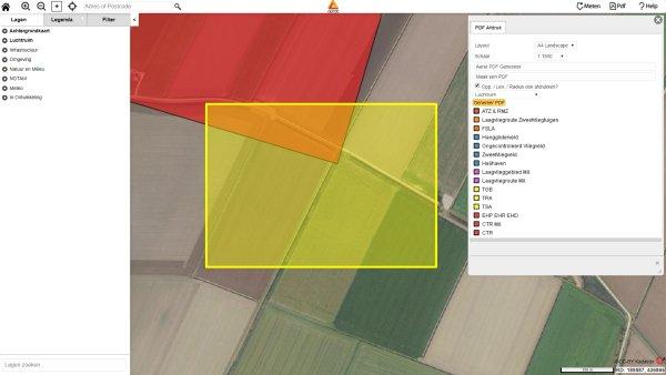 aeret drone preflight pdf kaart generator