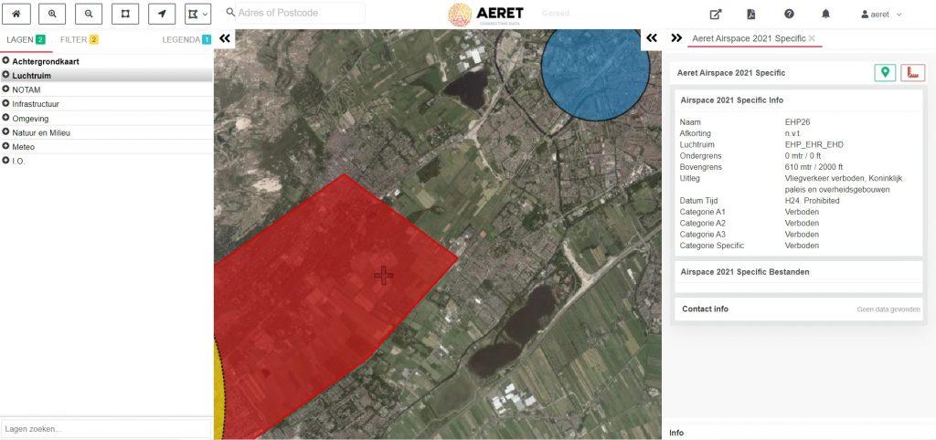 drone preflight pro kaart no fly zone ehp ehr ehd open specific