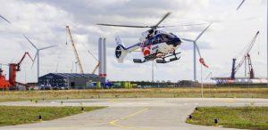 Heliport Eemshaven toegevoegd aan Drone kaart