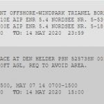 NOTAM in tekstformaat