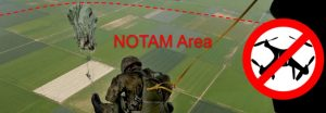 NOTAM op drone kaart