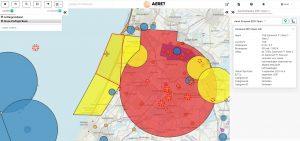 TGB No fly zone verboden drone gebied kaart rpas uav formule 1 zandvoort 2021